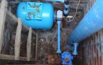 Как завести воду в дом из скважины