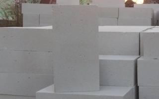 Стандартные размеры газосиликатных блоков