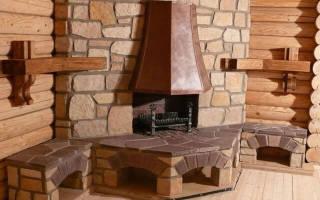 Камин в деревянном доме требования