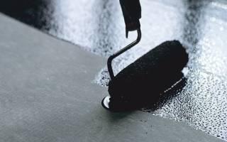 Расход битумной мастики на 1м2 фундамента