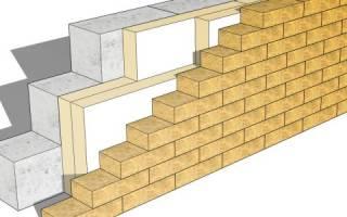 Какая толщина стены из керамзитобетонных блоков