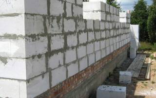 Строительство дома из газосиликатных блоков своими руками