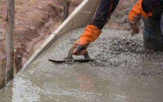 Набор прочности бетона во времени СНИП