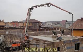 Толщина монолитной плиты перекрытия для двухэтажного дома