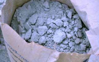 Как можно использовать старый цемент