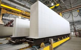 Прочность газосиликатных блоков для несущих стен