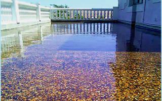 Чем выровнять бетонный пол на улице