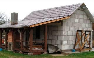 Как правильно построить баню из пеноблоков