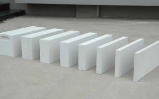 Толщина межкомнатных стен из газобетона