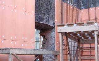 Пеноплекс какой стороной крепить к стене