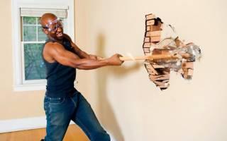 Как лучше сломать стену в квартире