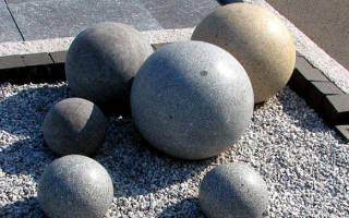 Как сделать шар из бетона