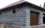 Блоки для строительства гаража какие лучше