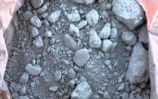 Можно ли использовать затвердевший цемент в мешке