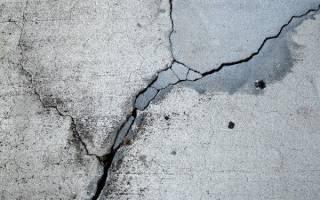 Раствор для заделки трещин в бетоне