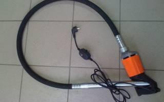 Виброуплотнитель для бетона ручной