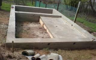 Заливка бетона в землю без опалубки