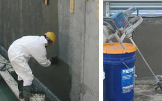 Гидроизоляция глубокого проникновения для бетона