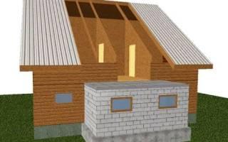 Пристроить гараж к дому из газобетона