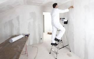 Чем обработать бетонные стены перед поклейкой обоев