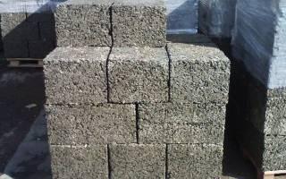 Строительные блоки из опилок и цемента
