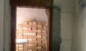 Усиление проемов в бетонной стене