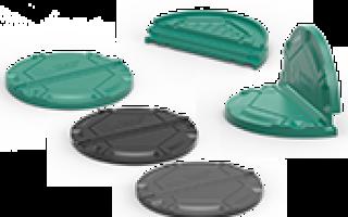 Крышка пластиковая для бетонных колодцев