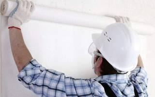 Подготовка стен из гипсокартона к поклейке обоев