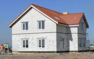 Отделка фасада дома из газосиликатных блоков