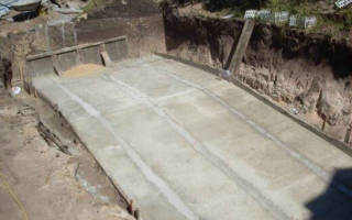 Как залить бетон под уклоном