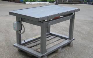Вибростол для производства тротуарной плитки своими руками