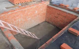 Можно ли бетонировать пол в погребе