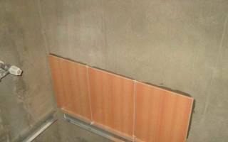Надо ли шпаклевать стены под плитку