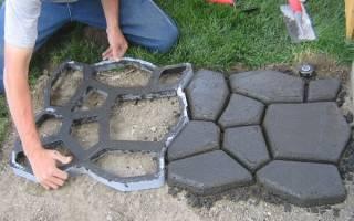 Рецепт раствора для тротуарной плитки