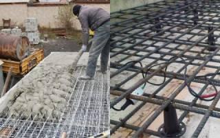 Как залить монолитную плиту перекрытия