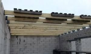 Потолочные перекрытия в доме между этажами