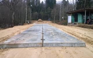 Технология укладки дорожных плит на песок