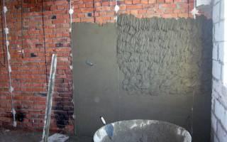Штукатурка бетонных стен технология