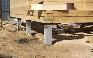 Свайно забивной фундамент для частного дома