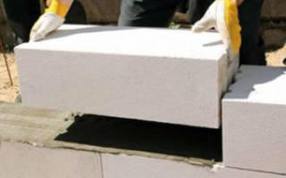 Как правильно класть газосиликатные блоки