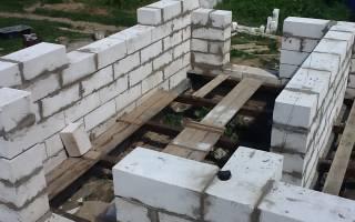 Как построить сарай из пеноблоков своими руками