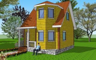 Фундамент для каркасного дома 8х8