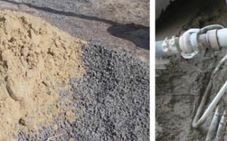 В каких пропорциях смешивать цемент с песком