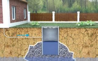 Гидроизоляция выгребной ямы из бетонных колец