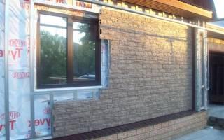 Как обшить дом фасадными панелями своими руками
