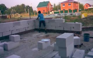 Как построить дом своими руками из пенобетона