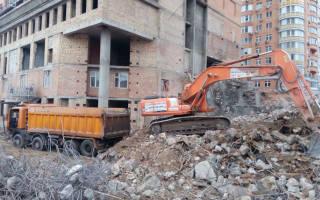 Переработка бетона и железобетона