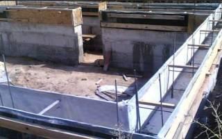 Толщина стен цокольного этажа из бетона
