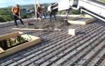 Заливка потолка бетоном