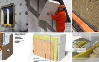 Чем утеплить стены из газобетона снаружи